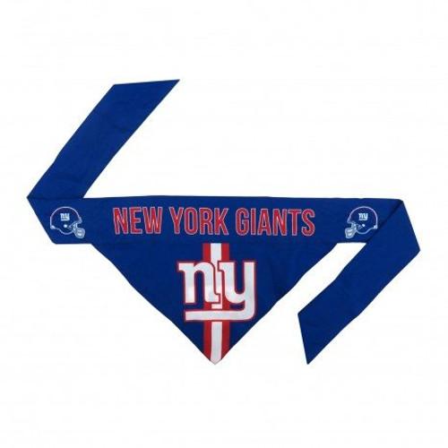 New York Giants Tie-On Dog Bandana