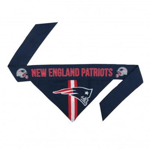 New England Patriots Tie-On Dog Bandana