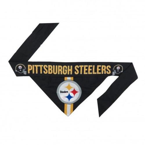 Pittsburgh Steelers Tie-On Dog Bandana