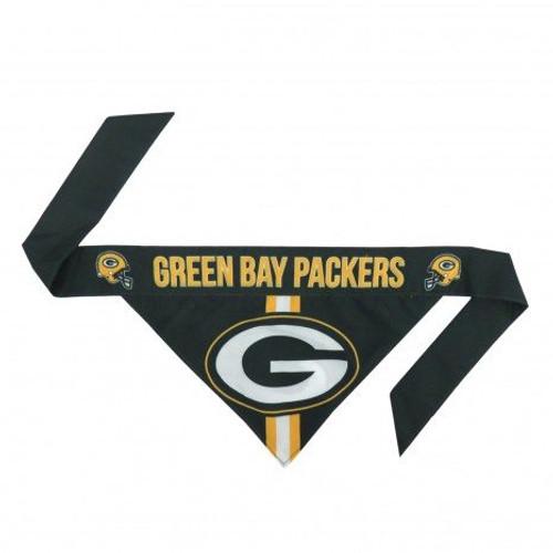 Green Bay Packers Tie-On Dog Bandana