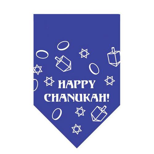 Happy Chanukah Pet Bandana