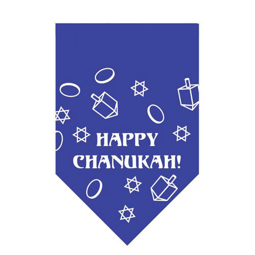 Happy Chanukah Pet Bandana