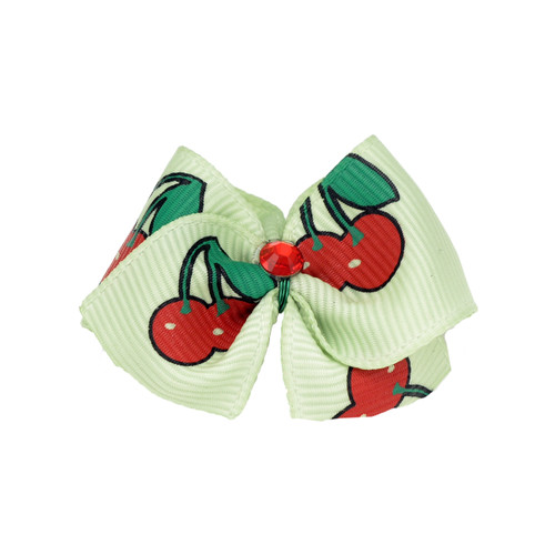 Cherry Dog Hair Bow