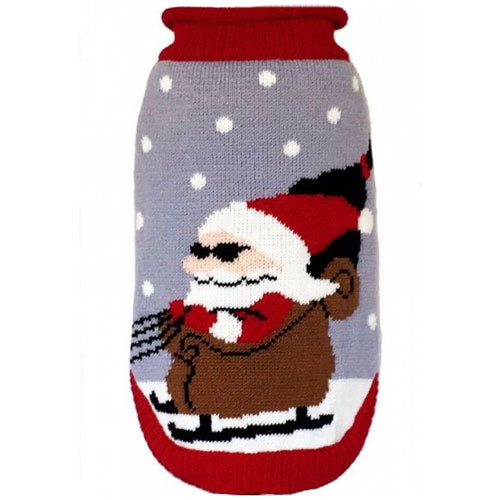 Holiday Sweater | Cool Santa w/Sunglasses