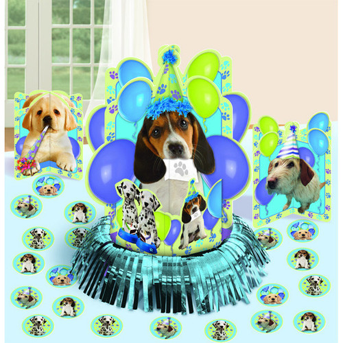 Party Pups Dog Birthday Table Decorating Kit