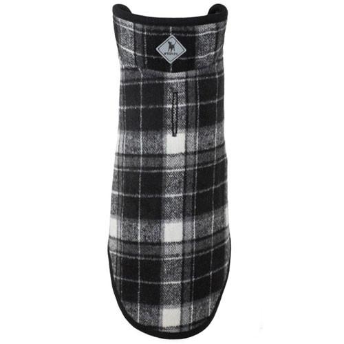 Worthy Dog Alpine Dog Jacket | Black Plaid