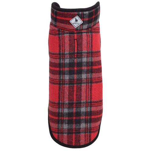 Worthy Dog Alpine Dog Jacket | Red Plaid