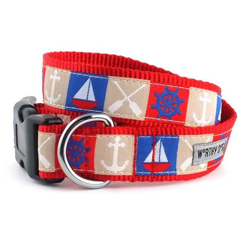 Ahoy Dog Collar
