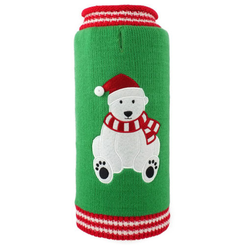 Christmas Bear Dog Sweater