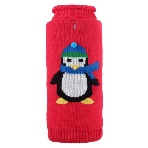 Petey the Penguin Dog Sweater