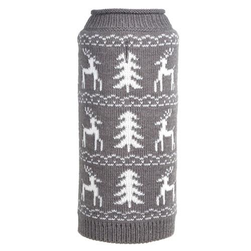 Woodlands Reindeer Dog Sweater