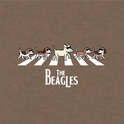 The Beagles Lightweight T-Shirt