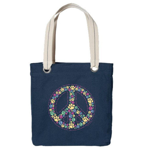 Canvas Tote | Paws For Peace
