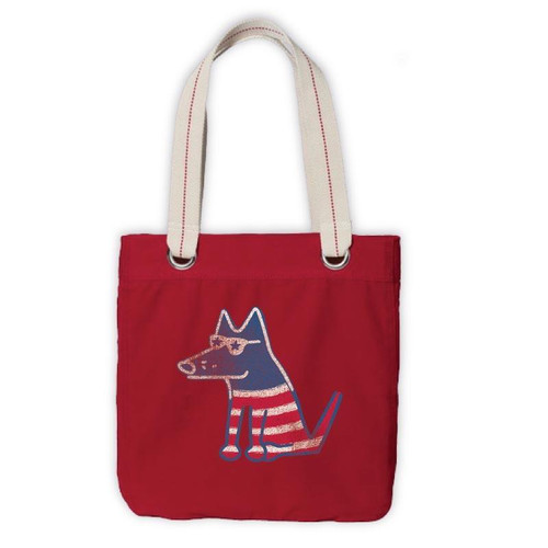 Canvas Tote | Petriotic Pup