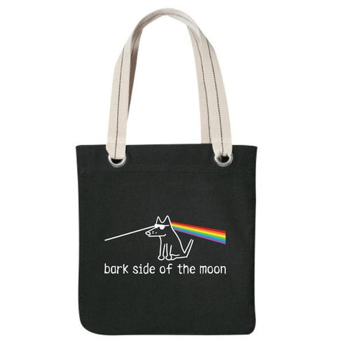 Canvas Tote | Bark Side Of The Moon