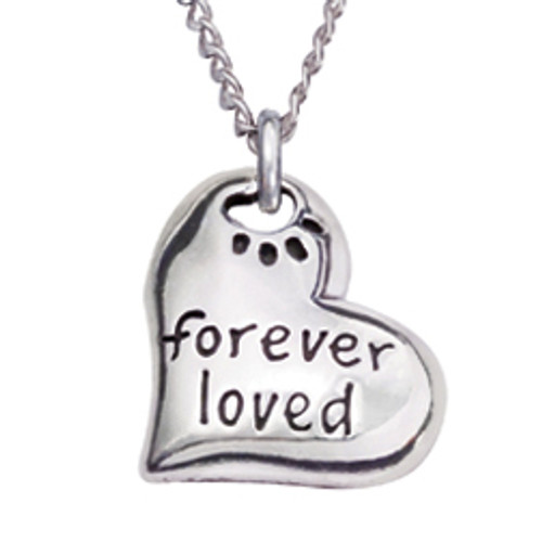 Sterling Silver Human Necklace | Forever Loved
