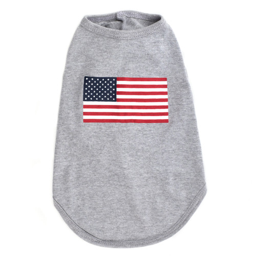 Worthy Dog Tank Top | American Flag
