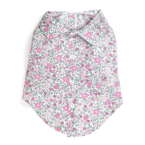 Worthy Dog Cotton Shirt | Floral
