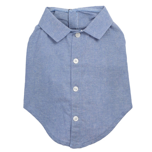 Worthy Dog Cotton Shirt | Chambray