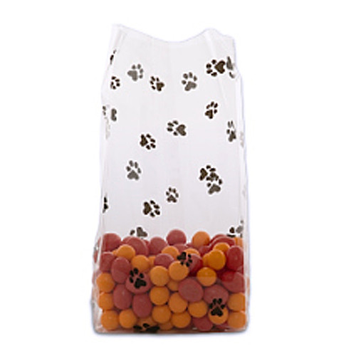 Paw Print Treat Bags