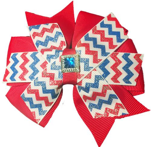 Pinwheel Collar Bud | America