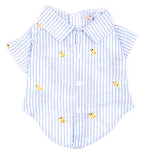 Worthy Dog Cotton Shirt | Duckies