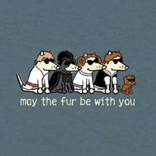 May The Fur Be With You Lightweight T-Shirt