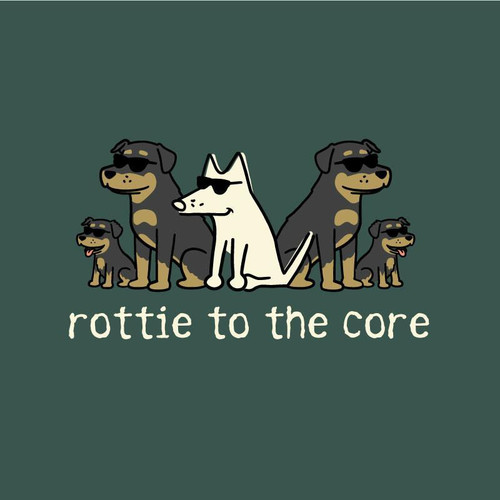 Rottie To The Core Classic T-Shirt