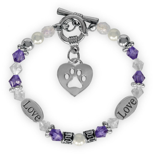 Pawsitive Inspiration Bracelet