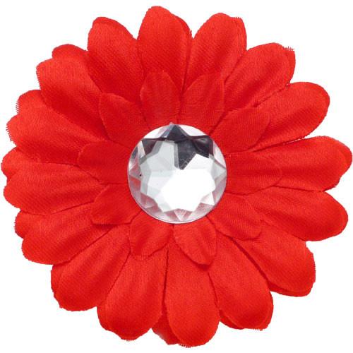 Red Mini Daisy Collar Bud