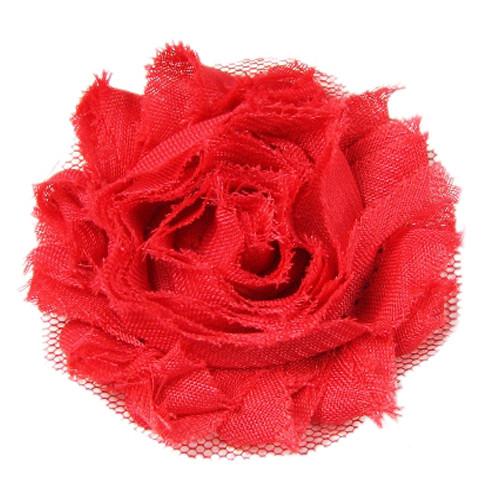 Shabby Red Collar Bud