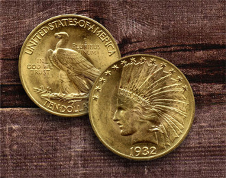 $10 Indian Gold Coin