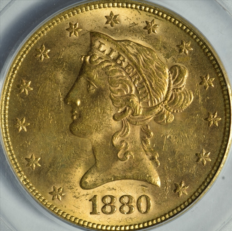 Almost Uncirculated $10 Liberty Gold Piece