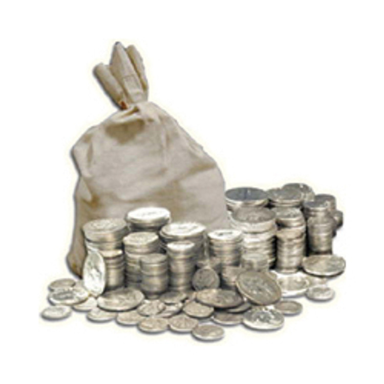Full Bag of Junk $1000 Face Value - 715 ounces of Silver