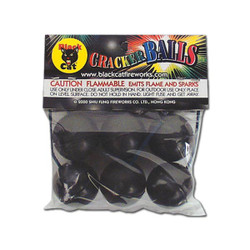Black Cat Crackling Ball