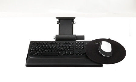 Humanscale 6g 900 91h G Clip Mouse Keyboard System With 6g