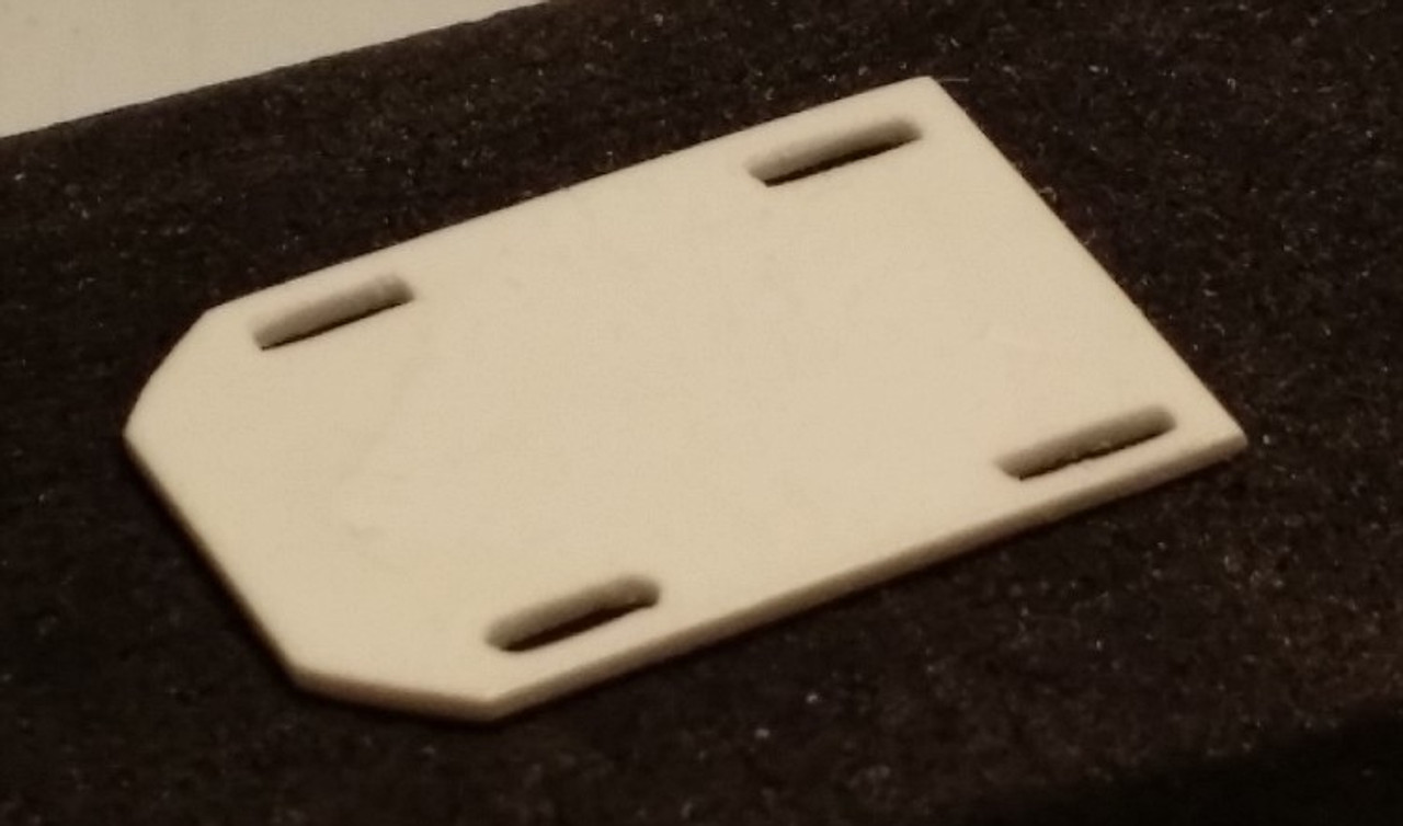 Blower Hold Down Plate 1/25