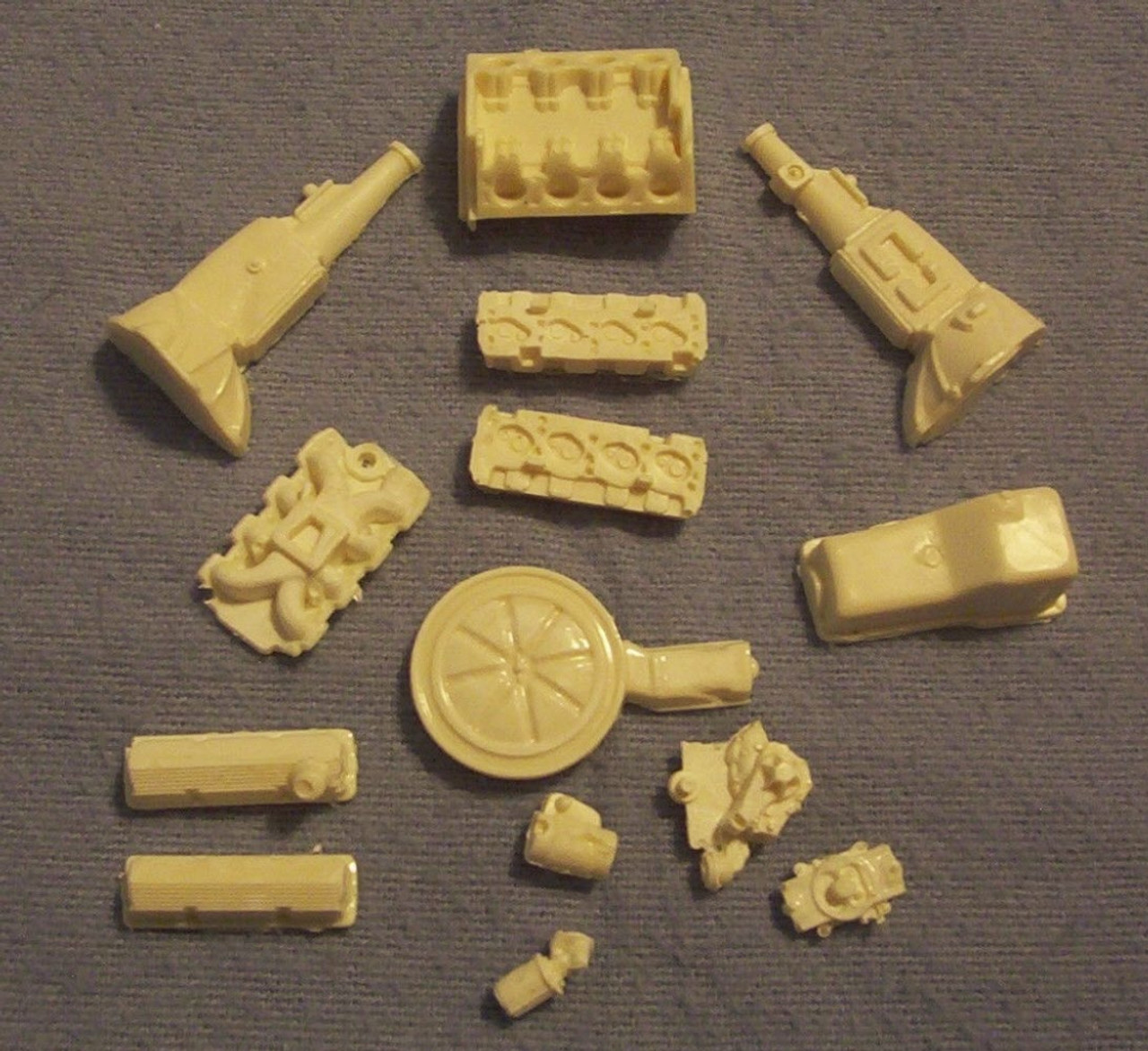Ford BOSS 302 Engine, Blown 1/25