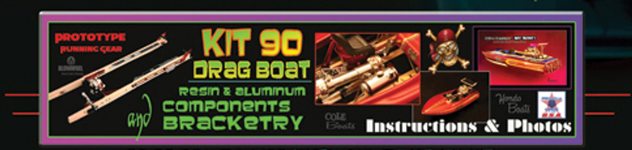 Drag Boat KIT-90 Detail Set 1/16