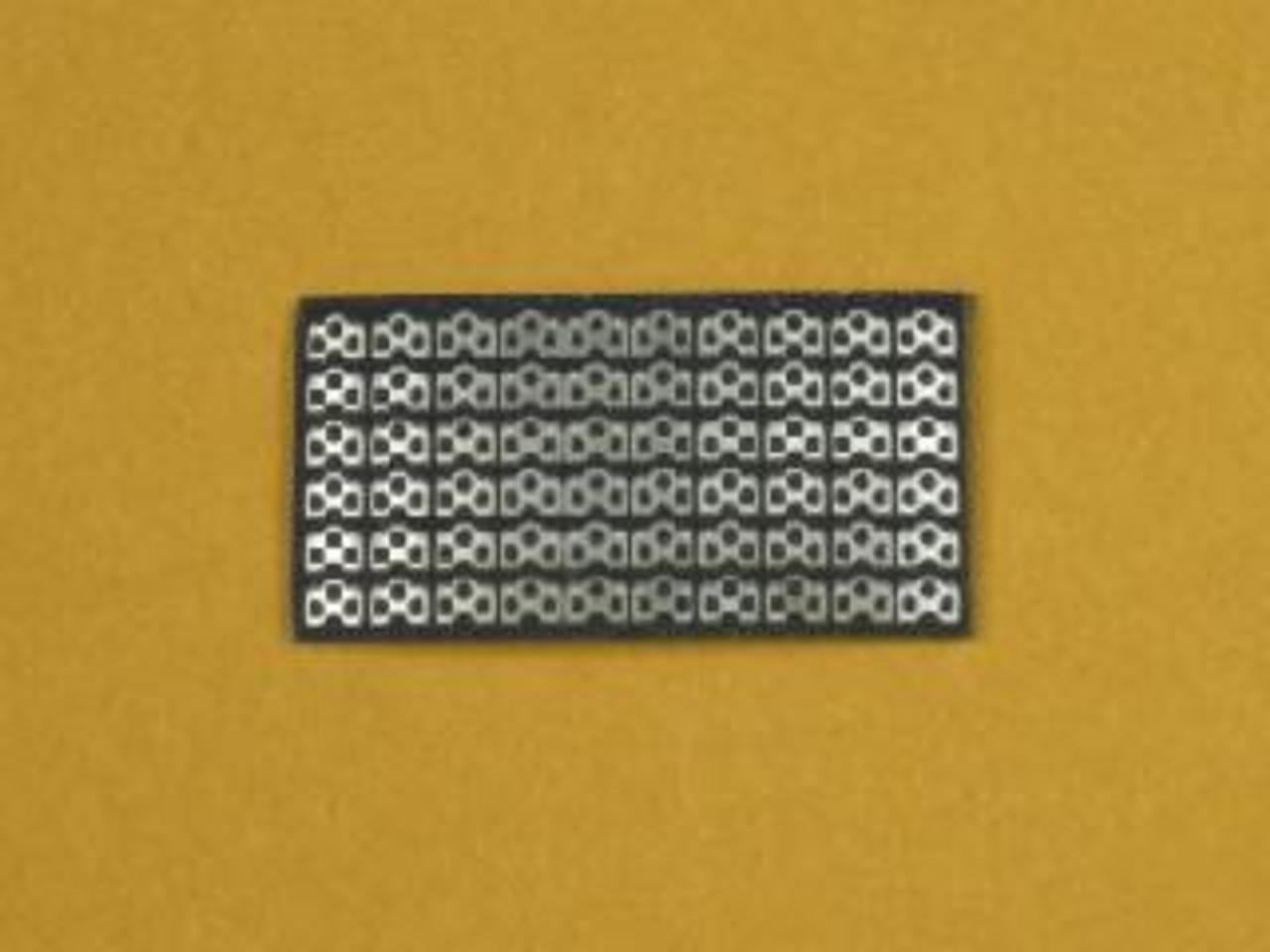 Dzus Mounting Plates Lightweight 1/25