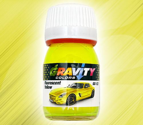 Fluorescent Yellow Paint