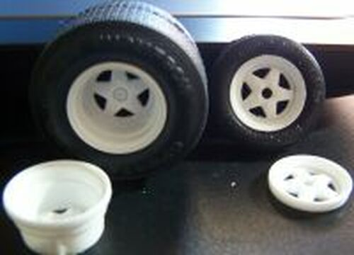 Weld 5-Star Pro Street Wheels 1/25