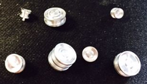 LS7 Serpentine 7-Pulley Set - Aluminum 1/25