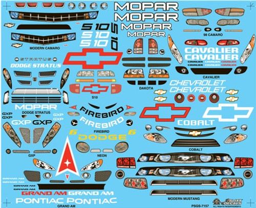 Pro Stock Grill Sheet #3 1/25