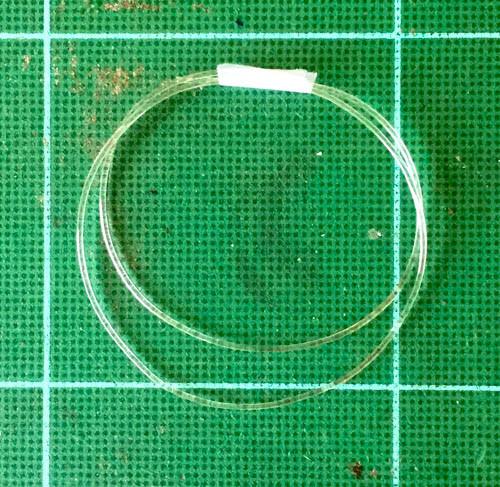 Clear Soft Line - Hose .030, .75 mm OD Dia.
