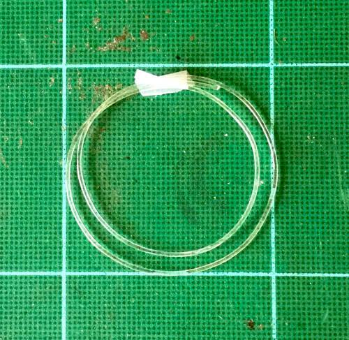 Soft Clear Line - Hose  .039, 1 mm OD