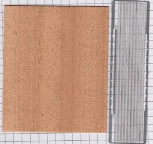 Truck Bed Kit, Mahogany Wood 1/24-1/25