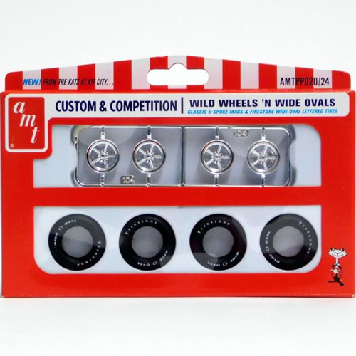 Firestone Wide Ovals & Mags, Set of 4 1/25