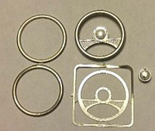 2-Spoke Billet Steering Wheel 1/24-1/25
