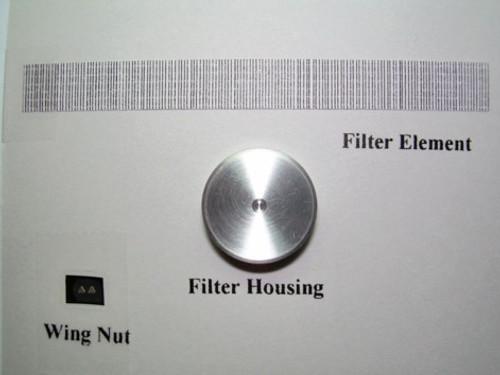 """Round 14"""" Aluminum (Custom Style) Air Cleaner 1/25"""
